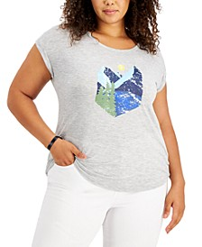 Plus Size Great Outdoors Graphic T-Shirt, Created for Macy's