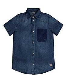 Big Boys Short Sleeve Shirt