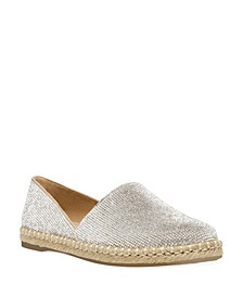 Women's Kaily Crystal Espadrille Flats