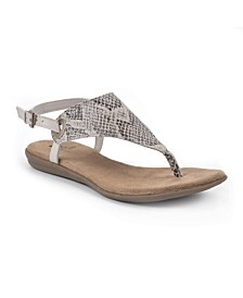 London Women's Flat Sandals