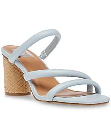 Myla Strappy Block-Heel Sandals