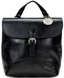 Small Vatoni Convertible Leather Backpack, Created for Macy's
