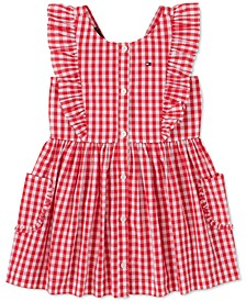 Baby Girls Cotton Gingham Dress