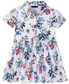 Baby Girls Floral-Print Shirtdress