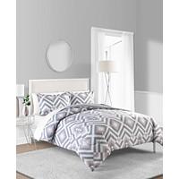 Sunham Baldwin 3-Pieces Reversible King Comforter Set
