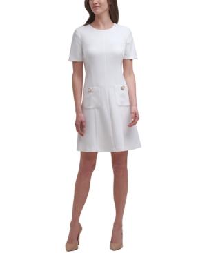 Pocket Fit & Flare Dress