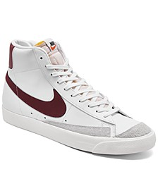 Men's Blazer Mid 77 Vintage-like Casual Sneakers from Finish Line