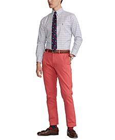 Men's Classic-Fit Check Oxford Dress Shirt