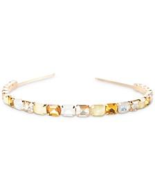 Aurora Yellow Faux Gemstone Headband