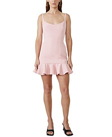 Flounce-Hem Gigi Dress