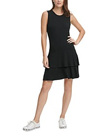 Tiered Fit & Flare Dress