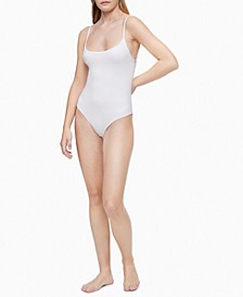 Women's Pure Ribbed Bodysuit QF6446