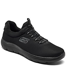 Men's Summits Slip-On Athletic Training Sneakers from Finish Line