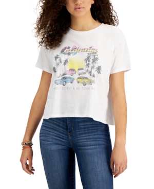 California Car-Print T-Shirt