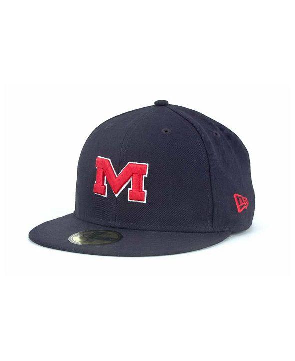 New Era Mississippi Rebels 59FIFTY Cap