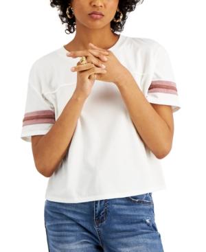 Juniors' Varsity Stripe T-Shirt