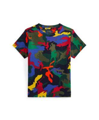 폴로 랄프로렌 남아용 반팔티 Polo Ralph Lauren Toddler Boys Polo Pony Camouflage T-shirt,Player Camouflage