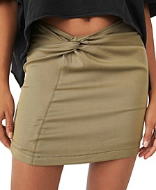 Night Dreamer Twisted Mini Skirt