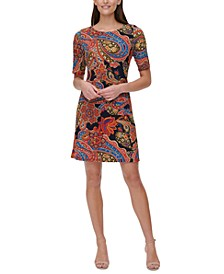 Petite Printed Dress