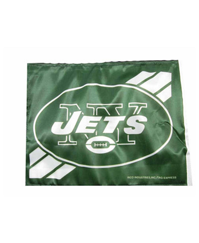 Rico Industries New York Jets Car Flag