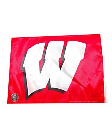 Wisconsin Badgers Car Flag