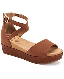 Ellenaa Wedge Sandals, Created for Macy's