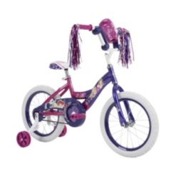 Huffy 16-Inch Disney Princess Girls Bike With Bubble-Maker