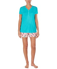 T-Shirt & Shorts Pajama Set