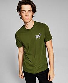 Men's Paisley Goat T-Shirt