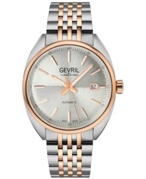 Men's Five Points Swiss Automatic Two-Tone Stainless Steel Bracelet Watch 47.5mm