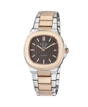 Men's Potente Swiss Automatic Two-Tone Stainless Steel Bracelet Watch 40mm