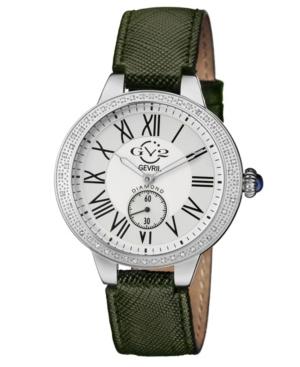 Women's Astor Swiss Quartz Black Leather Strap Watch 40mm