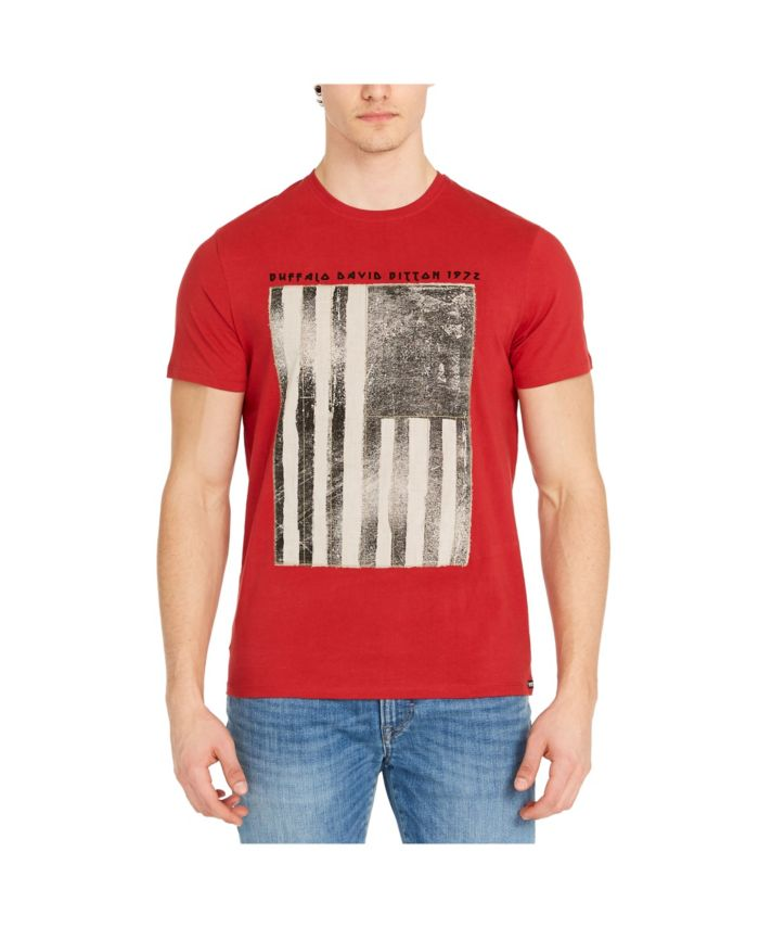 Buffalo David Bitton Men's Tarot Short Sleeve T-shirt & Reviews - T-Shirts - Men - Macy's