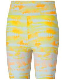 Women's Tie-Dyed Bike Shorts