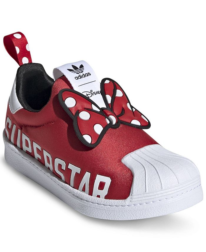 Little Girls Superstar 360 x Minnie Slip-On Casual Sneakers from Finish Line