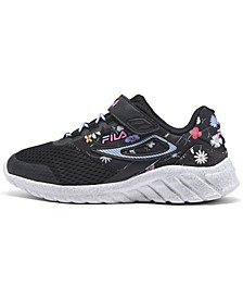 Little Girls Mystic Floral Running Sneakers from Finish Line