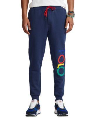 폴로 랄프로렌 조거팬츠 Polo Ralph Lauren Mens Logo Double-Knit Jogger Pants,Newport Navy