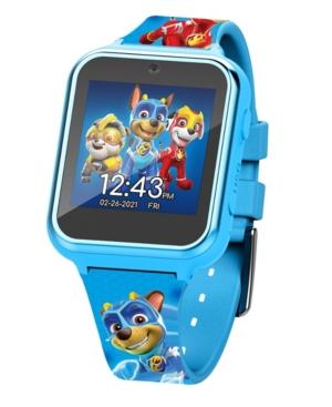 Paw Patrol Kid's Touch Screen Aqua Silicone Strap Smart Watch