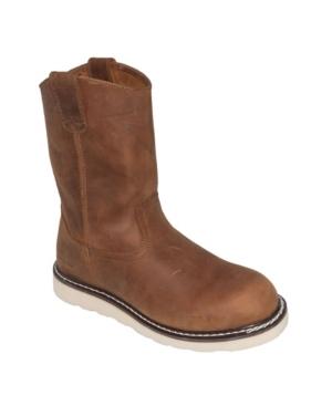 Men's Side Zipper Pull-on Wellington Boot Men's Shoes