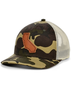 Local Crowns California Woodland State Patch Curved Trucker Cap