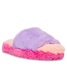Big Girls Misses Open Toe Slipper