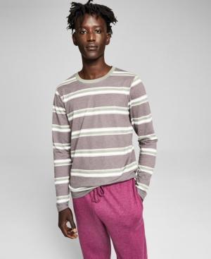 Men's Striped Long Sleeve T-Shirt
