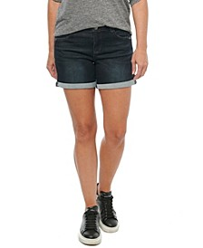"Women's ""Ab"" Solution Roll Cuff 5"" Shorts"