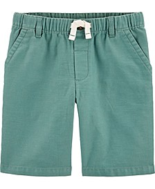 Big Boys Easy Pull-On Poplin Shorts