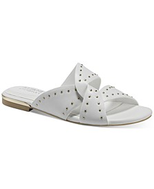 Women's Danicah Studded Flat Sandals, Created for Macy's