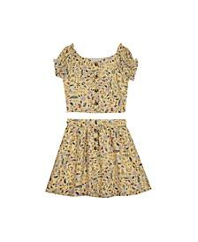 Big Girls Gauze Skirt Set