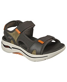 Men's GOwalk Arch Fit - Mission Cage Sandals from Finish Line