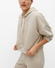 Women's Cropped Sweatshirt Hoodie