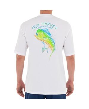 Men's Scribble Mahi Short Sleeve Crew Neck T-Shirt