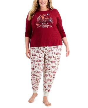 Plus Size Macy's Thanksgiving Day Parade Pajama Set